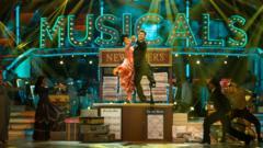 Pasha Kovalev and Ashley Roberts dancing