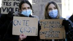 Protest at Sciences Po Strasbourg, 12 Feb 21