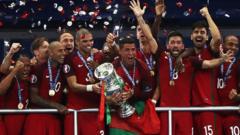 Portugal celebrate