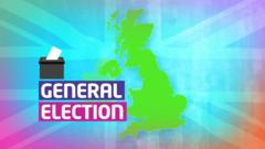 General election graphic