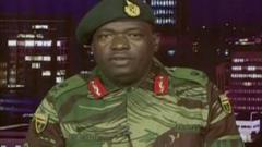 The military have taken control in Zimbabwe and broadcast on state TV