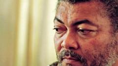 Jerry Rawlings in 2001