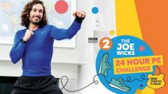 Joe Wicks with logo.