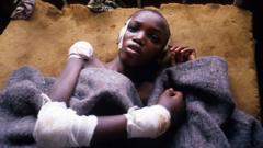 A Tutsi survivor of the Rwandan genocide, 11 May 94