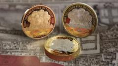 Great Fire of London commemorative coin