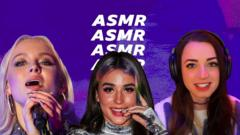 Why ASMR is becoming more used within the music industry.