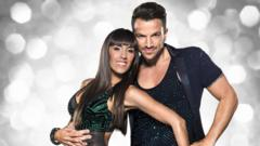 Peter Andre with Janette Manrara