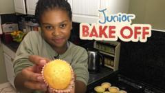 CBBC Junior Bake Off winner Amari