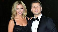 Rachel Riley and Pasha Kovalev.