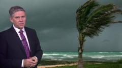 Hurricane Irma is expected to arrive in Florida by the weekend. BBC weather reporter Phil Avery Irma is now a category 5 storm - the strongest there is.