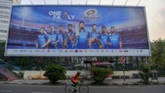 IPL billboard.