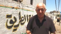 Jeremy Bowen in Gaza