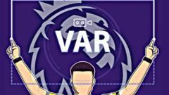VAR-demonstration-and-premier-league-logo.