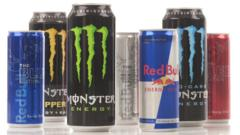 Famous energy drink brands
