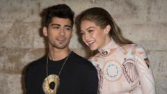Zayn Malik and Gigi Hadid