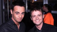 Ant and Dec in 2001