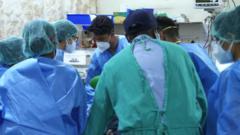 Doctors battle to save coronavirus patients