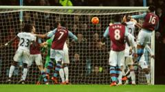 Lescott's header scored the only goal of the match