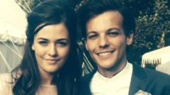 This picture was posted by Felicite on her instagram, showing her with brother Louis