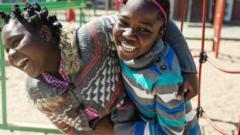 Girls-in-a-playground.