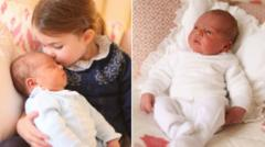 The Duchess of Cambridge's beautiful pictures of Princess Charlotte with her baby brother