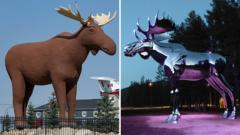 Mac the Moose (Left) and Storelgen (Right)