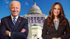 Biden and Harris.