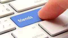 Friends button on keyboard