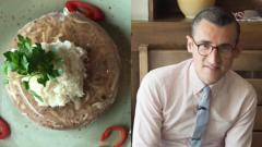 Ben Shires and some Russian food