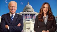 Biden and Harris.