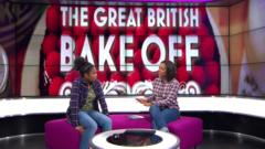 Junior Bake Off champ Amari talks to Newsround's Leah