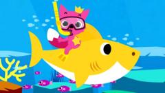 Still taken from Pinkfong's Baby Shark music video