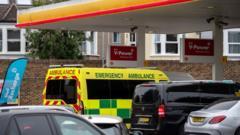 Ambulance filling up