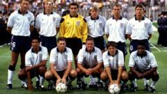 1990 World Cup England team