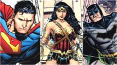 Superman wonder woman and batman