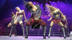 The Pussycat Dolls dancing
