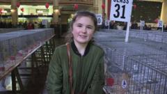 Young pigeon fancier up for top award