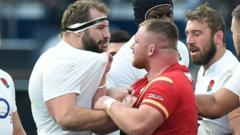 Joe Marler (left) and Samson Lee (right)