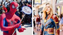 Spider-Man-and-Captain-Marvel-costumes.
