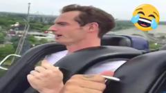 andy murray on a rollercoaster