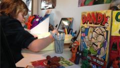 Jonny Toons- Phoenix comic artist