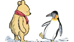 Winnie-the-Pooh and Penguin
