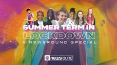 Summer Term in Lockdown - A Newsround Special
