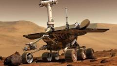 Oppy on Mars