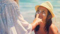 sunscreen-on-young-girl's-face.
