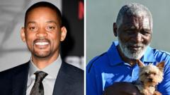 Composite image of Will Smith and Richard Williams