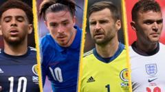 England and Scotland players