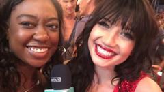 Ayshah with Daisy Lowe