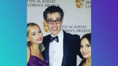 Archie at the Children's Bafta Awards