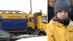greta and a gritter